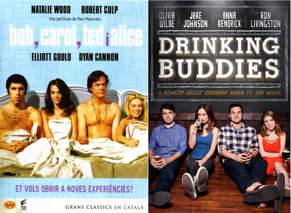 Bob & Carol & Ted & Alice and Drinking Buddies