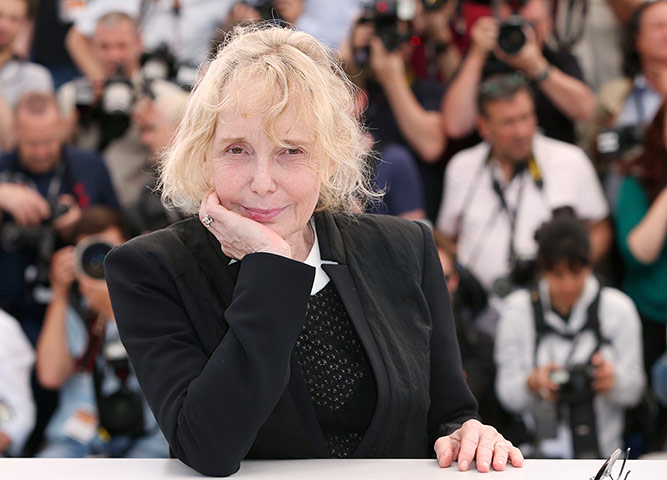 Director Claire Denis at the photo call for her film Les Salauds (Bastards)